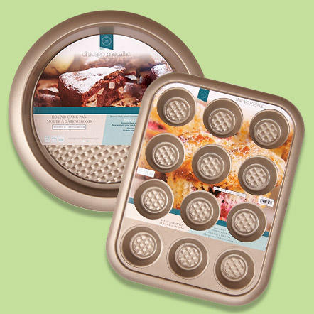 Bakeware - Bakeware essentials including baking sheets, cupcake pans, cooling racks and more