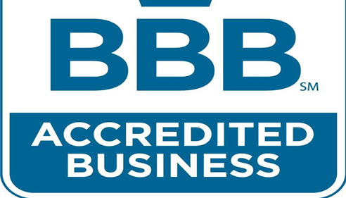 Accredited with the BBB with A+ Rating