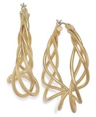 Image of Charter Club Spiral Hoop Earrings