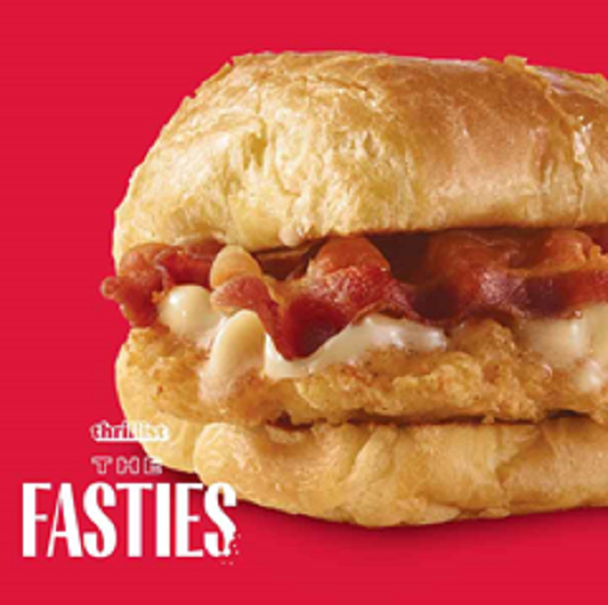 Wendy's Maple Bacon Chicken Croissant