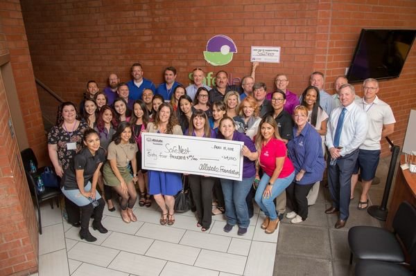 Alma Parra - SafeNest Receives Allstate Foundation Helping Hands Grant