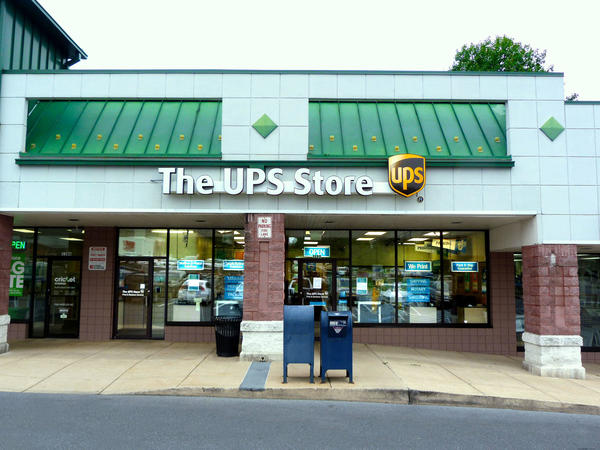 Facade of The UPS Store Lancaster