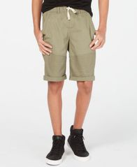 Image of Epic Threads Big Boys Moto Twill Shorts, Created for Macy's