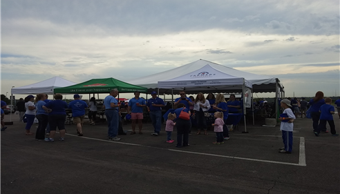 Our annual customer appreciation tailgate! Bigger and better every year.