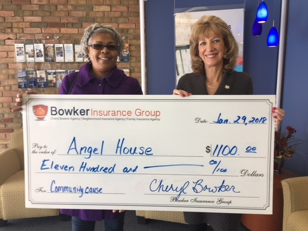 Cheryl Bowker - Support for The Angel House