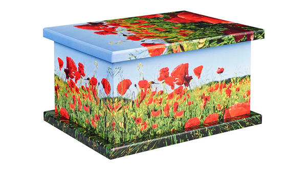 Poppy Scene from our Picture Urns collection