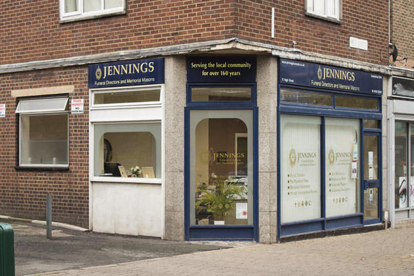 Jennings Funeral Directors in Wednesfield.