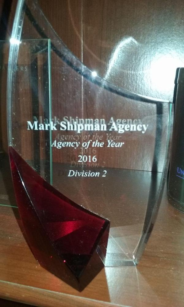 Picture of an Agency of the Year award