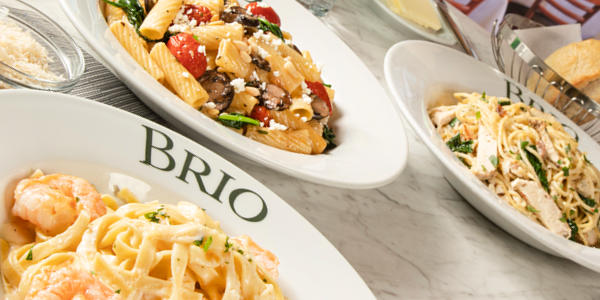 Brio Italian Grille - World Pasta Month