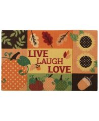 "Image of Nourison Live Laugh Love 20"" x 30"" Accent Rug"