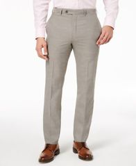 Image of Lauren Ralph Lauren Men's Classic-Fit Ultraflex Stretch Dress Pants