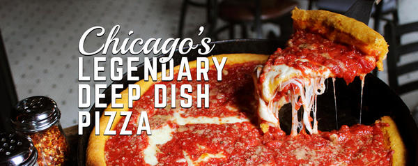 Gino's East of Chicago Deep Dish Pizza