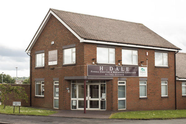 H Dale Funeral Directors in Sandford Hill, Longton, Stoke on Trent.