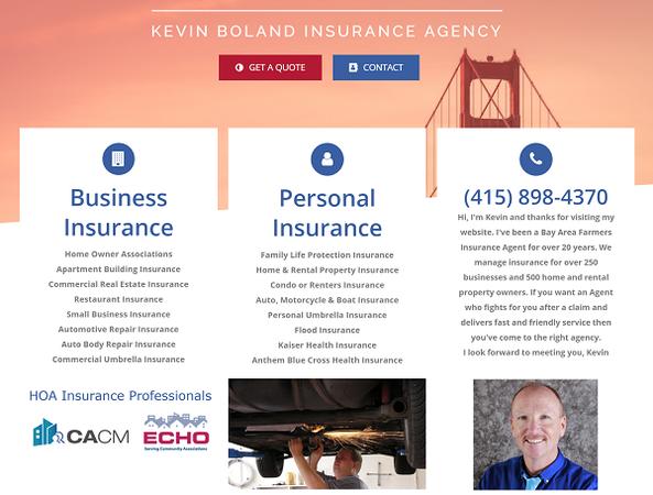 Kevin Boland - Farmers Insurance Agent in Novato, CA