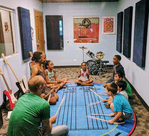 Image of New Rocking Music Classes for ages 0-5.5 yrs old!