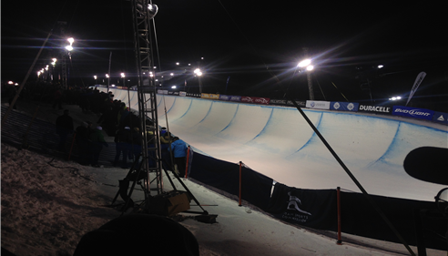 22 Foot Half Pipe used for Olympic Qualifying.