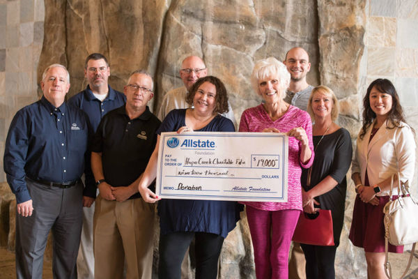 Kyle Jensen - Hope Creek Charitable Foundation Receives Allstate Foundation Helping Hands Grant