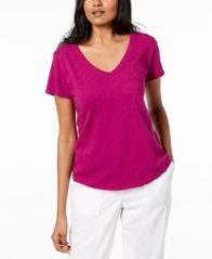 Image of Eileen Fisher Organic Cotton T-Shirt, Regular & Petite