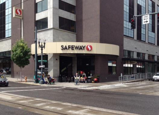 Safeway Store Front Photo at 1303 NW Lovejoy St in Portland OR