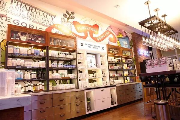 Image of Apothecary Preparations Counter in Store