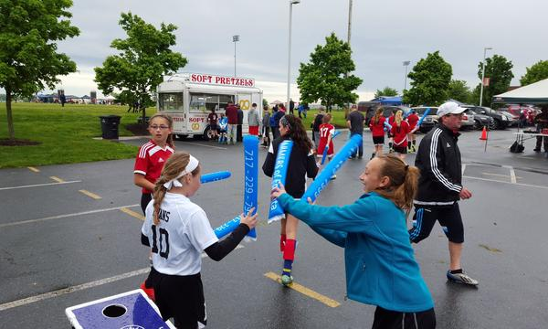 Thunder Sticks at Soccer Tourney