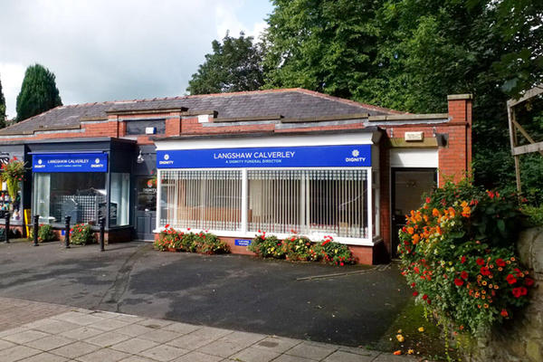 Langshaw Calverley Funeral Directors in Whalley, Lancashire.