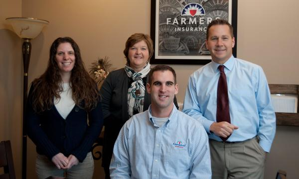 Our Staff From left, Jennifer Piner, Gladys Balthaser, Jimmy O'Leary and Steve Trego