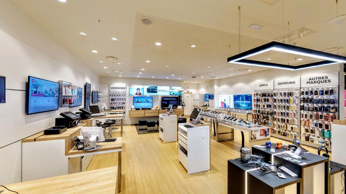 boutique sfr lyon part dieu centre commercial. Black Bedroom Furniture Sets. Home Design Ideas