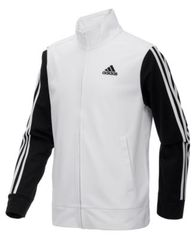 Image of adidas Big Boys Zip-Up Tricot Jacket