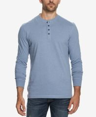 Image of Weatherproof Vintage Men's Heathered Henley