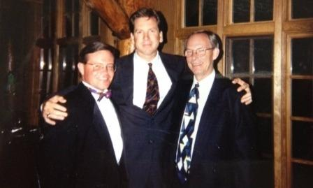 Toppers Club with  Gregor Scott and the late Jim Petersen.