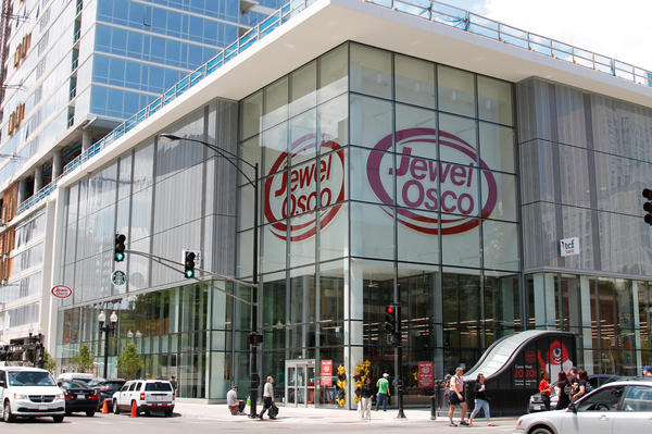 Jewel Osco Store Front Picture at 102 W Division St in Chicago IL