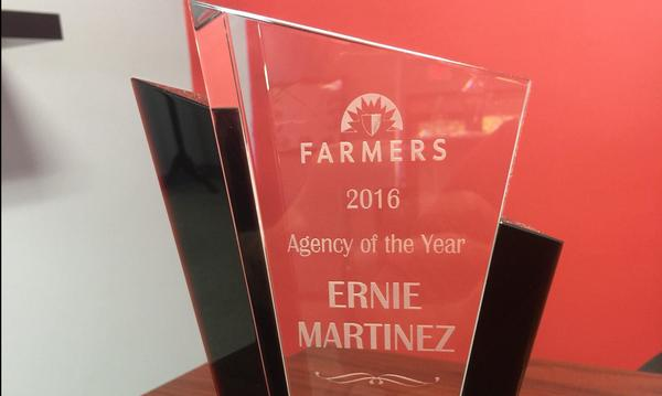 Agency of the Year award