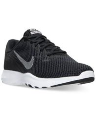 Image of Nike Women's Flex Trainer 7 Wide Training Sneakers from Finish Line