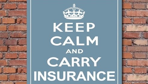 Keep Calm and Carry Insurance