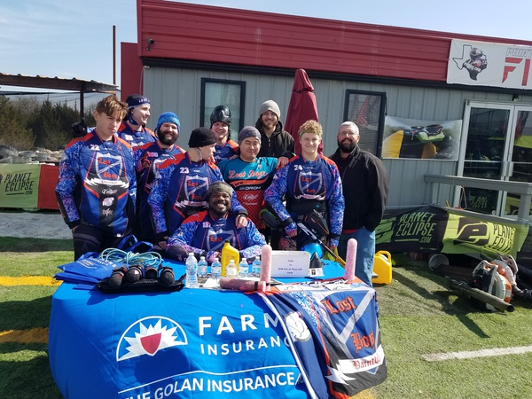 Farmers Sponsored paintball Team