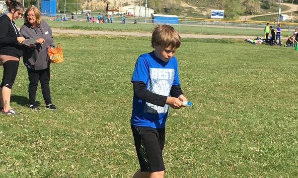 Volunteering at Sandrock Elementary School Field Day
