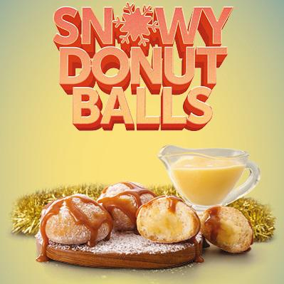 Image of Snowy Donut Balls
