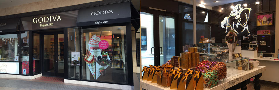 Godiva Chocolatier Fashion Valley Mall 74