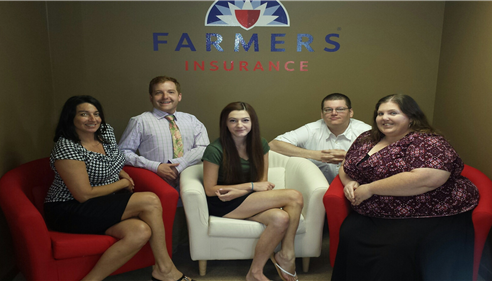 The Borowski Agency Team (Christina, Timothy, Erin, William, Anne)