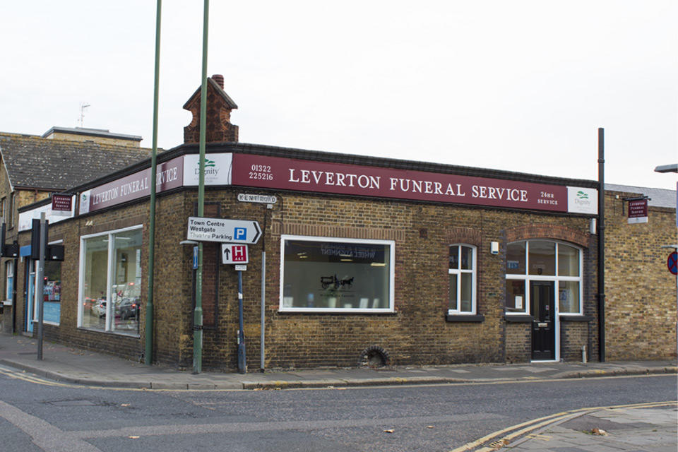 Leverton Funeral Directors in Dartford.