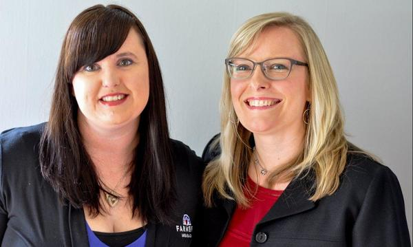 Dawn Halsey, Insurance Specialist Larissa DeHart, Agency Owner