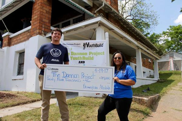 John Carlton - Allstate Foundation Helping Hands Grant for The Dannon Project