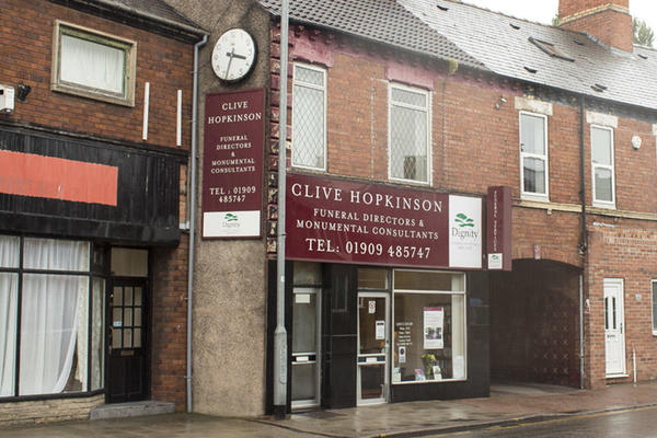 Clive Hopkinson Funeral Directors on Watson Road, Worksop