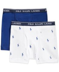 Image of Polo Ralph Lauren 2-Pk. Boxer Briefs, Little Boys & Big Boys