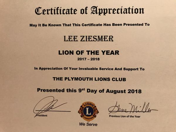 Check out the Plymouth Lions
