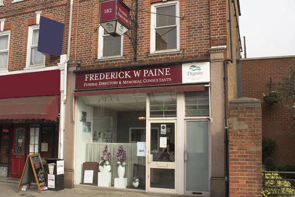 Frederick W Paine Funeral Directors in New Malden