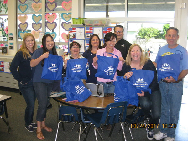 Mike Fraijo Farmers Insurance Agency supports the teachers at Robert M Pyles STEM Academy
