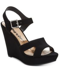 Image of American Rag Rochelle Platform Wedge Sandals, Created for Macy's
