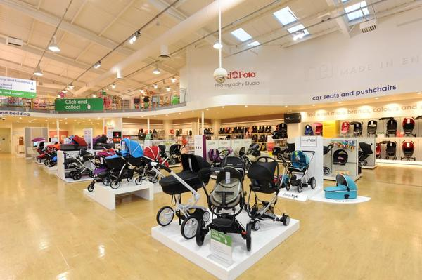 Mothercare romford car seats and pushchairs